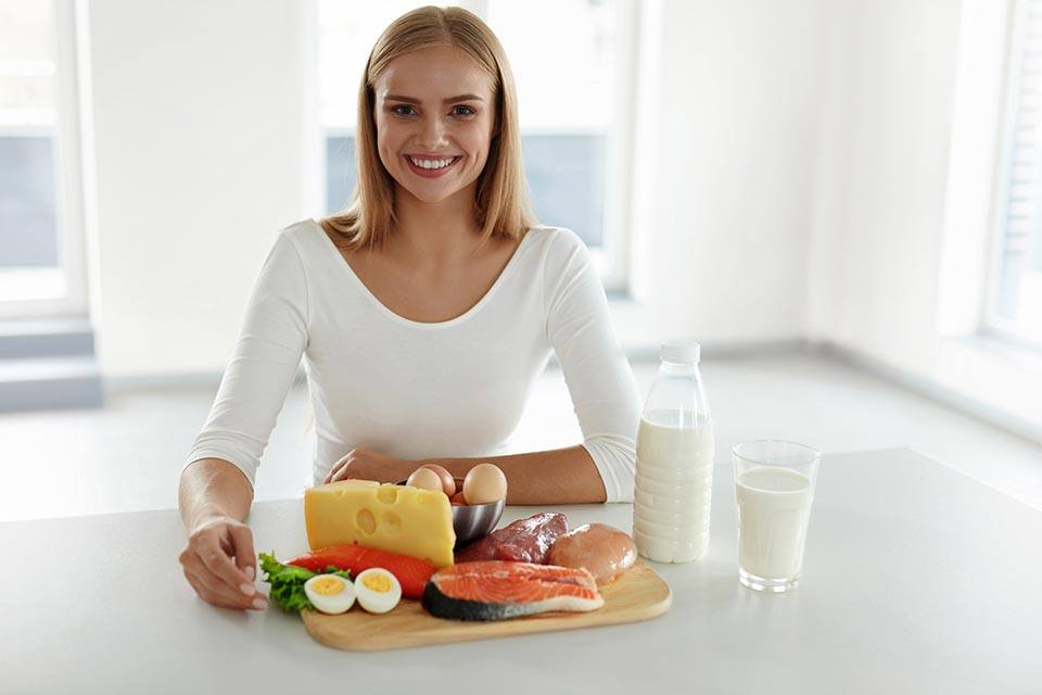 Proteini za ženske